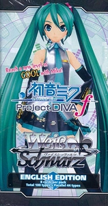 Weiss Schwarz ENGLISH Project Diva Vocaloid Booster Pack
