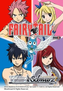 Weiss Schwarz ENGLISH Fairy Tail Ver.E Trial Booster Case [16 Boxes] Pre-Order ships December 19, 2014