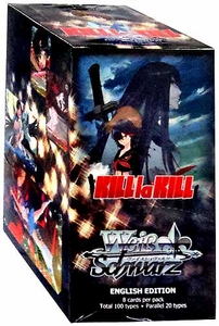 Weiss Schwarz ENGLISH Kill La Kill Booster BOX [20 Packs] New!