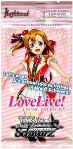Weiss Schwarz ENGLISH Love Live! Booster Pack