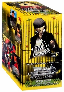 Weiss Schwarz ENGLISH Persona 4 Trial Booster BOX [20 Packs] Pre-Order ships October 24, 2014