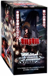 Weiss Schwarz JAPANESE Kill La Kill Booster Box [20 Packs]