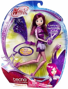 Winx Club 11.5 Inch Deluxe Fashion Doll Believix Power Tecna