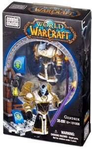 World of Warcraft Mega Bloks Set #91006 Gendrik [Alliance Worgen Priest] New!