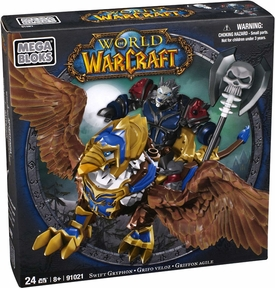 World of Warcraft Mega Bloks Set #91021 Swift Gryphon