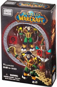 World of Warcraft Mega Bloks Set #91023 Wildhide [Horde Tauren Druid] New!