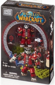 World of Warcraft Mega Bloks Set #91050 Rojo New!