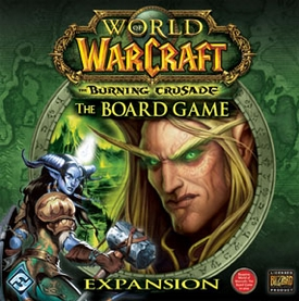 World of Warcraft: The Burning Crusade  Fantasy Flight Board Game Expansion