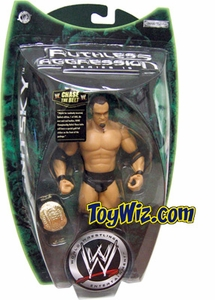 WWE Jakks Pacific Wrestling Action Figure Ruthless Aggression Series 15 Gold Belts Giveaway Gene Snitsky