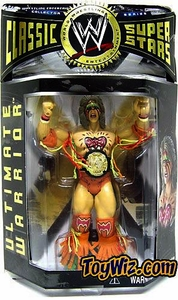 WWE Jakks Pacific Wrestling Classic Superstars Series 1 Action Figure Ultimate Warrior