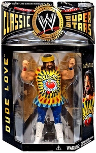 WWE Jakks Pacific Wrestling Classic Superstars Series 2 Action Figure Dude Love [Colorful Wristbands Variant]