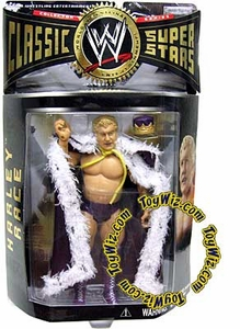WWE Jakks Pacific Wrestling Classic Superstars Series 7 Action Figure Harley Race