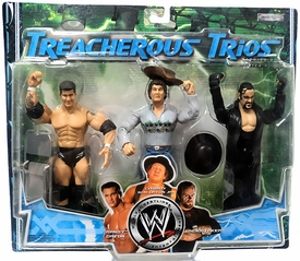 WWE Jakks Pacific Wrestling Exclusive Series 3 Treacherous Trios Action Figure 3-Pack Randy Orton, Cowboy Bob Orton & Undertaker