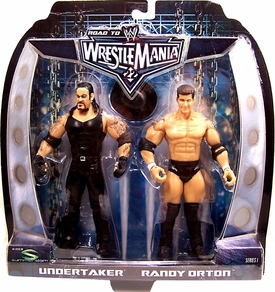 WWE Summer Slam Road to Wrestlemania 22 Series 1 Action Figure 2-Pack Randy Orton vs. Undertaker