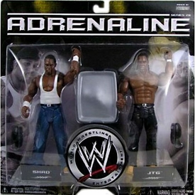 WWE Wrestling Adrenaline Series 26 Action Figure 2-Pack Cryme Tyme [Shad & JT]