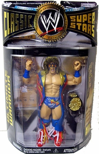 WWE Wrestling Classic Superstars Series 12 Action Figure Ultimate Warrior with Duster