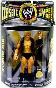 WWE Wrestling Classic Superstars Series 16 Action Figure Sycho Sid Vicious