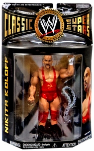 WWE Wrestling Classic Superstars Series 19 Action Figure Nikita Koloff
