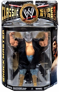 WWE Wrestling Classic Superstars Series 26 Action Figure Shockmaster