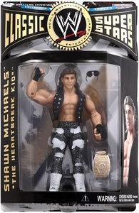 WWE Wrestling Classic Superstars Series 6 Action Figure HBK Shawn Michaels