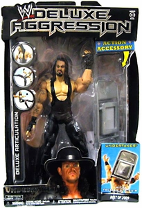 WWE Wrestling DELUXE Aggression Best of 2009 Action Figure Undertaker