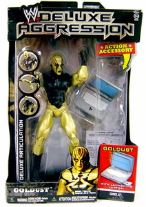 WWE Wrestling DELUXE Aggression Series 21 Action Figure Goldust