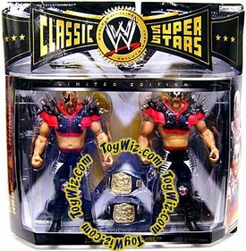 WWE Wrestling Exclusive Limited Edition Action Figure 2-Pack Hawk & Animal[Legion of Doom]