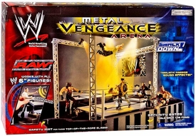 WWE Wrestling Ring Playset Metal Vengeance Arena