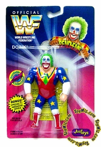 WWF / WWE Wrestling Superstars Bend-Ems Figure Series 1 Doink