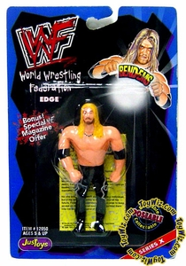 WWF / WWE Wrestling Superstars Bend-Ems Figure Series 10 Edge