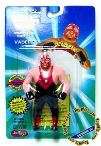 WWF / WWE Wrestling Superstars Bend-Ems Figure Series 4 Vader