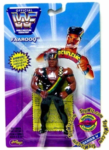 WWF / WWE Wrestling Superstars Bend-Ems Figure Series 5 Faarooq