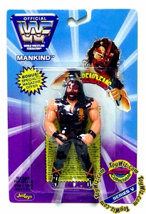WWF / WWE Wrestling Superstars Bend-Ems Figure Series 5 Mankind