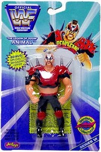 WWF / WWE Wrestling Superstars Bend-Ems Figure Series 6 Animal
