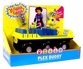 Yo Gabba Gabba Push Around Deluxe Vehicle Plex Buggy