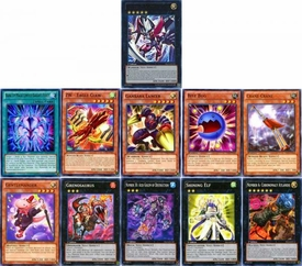 YuGiOh 2013 Super Starter: V for Victory Set of 11 Single Cards [ENV01-ENV11] BLOWOUT SALE!