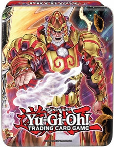 YuGiOh 2014 Mega Tin Brotherhood of the Fire Fist - Tiger King New!