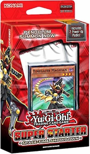 YuGiOh 2014 Super Starter: Space-Time Showdown 1st EDITION Deck New MEGA Hot!
