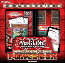 YuGiOh 2014 Super Starter: Space-Time Showdown 1st EDITION Power Box New!