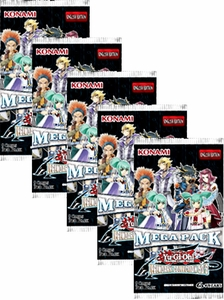YuGiOh 5D's Legendary Collection Lot of 5 Mega Booster Packs