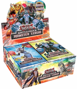YuGiOh Battle Pack 3 Monster League Booster BOX [36 Packs] Pre-Order ships August 1, 2014