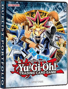 YuGiOh Card Supplies 4-Pocket Binder Classic Duelist Portfolio [Yugi, Joey & Kaiba] New!