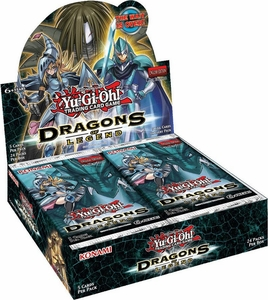 YuGiOh Dragons of Legend Booster BOX [24 Packs]