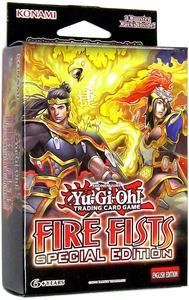 YuGiOh Fire Fists Special Edition Pack [3 Booster Packs + Fire Formation Tenki Promo] Hot!