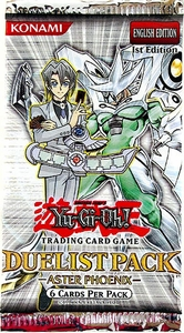 YuGiOh GX Aster Phoenix Duelist Booster Pack