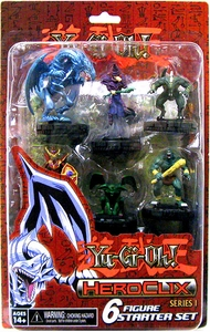 YuGiOh HeroClix Series One 2-Player Starter [6 Figures]