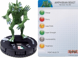 YuGiOh HeroClix Single Figure #1 Amphibian Beast
