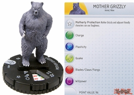 YuGiOh HeroClix Single Figure #11 Mother Grizzly