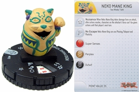 YuGiOh HeroClix Single Figure #12 Neko Mane King