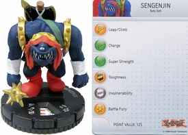 YuGiOh HeroClix Single Figure #13 Sengenjin